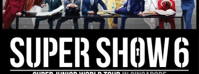 Super Show 6 in Singapore Poster sgXCLUSIVE
