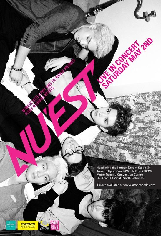 Toronto K-Pop Convention 2015 feat. NUEST