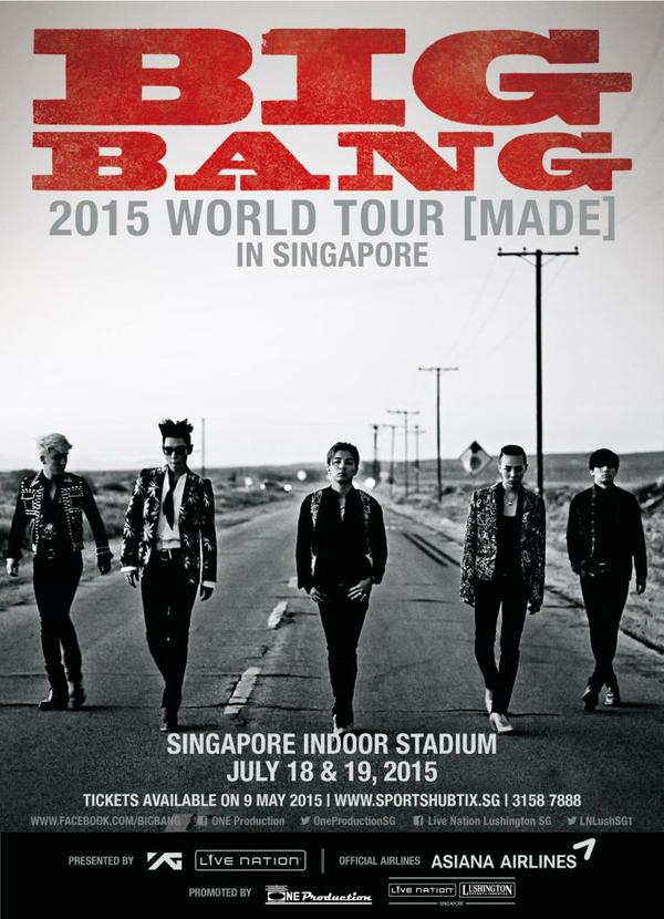BIGBANG MADE in Singapore