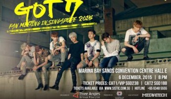 GOT7 Fan Meeting in Singapore 2015 sgXCLUSIVE