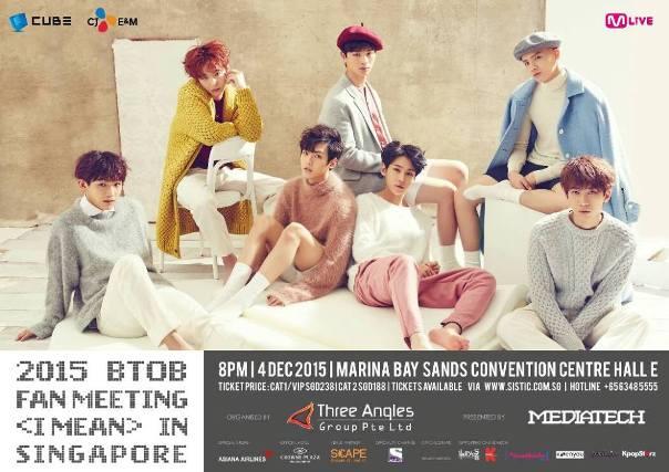 BTOB 'I Mean' Fan Meeting in Singapore 2015 - Copy