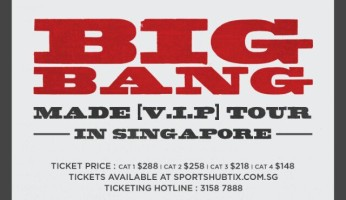BIGBANG MADE TOUR IN SINGAPORE