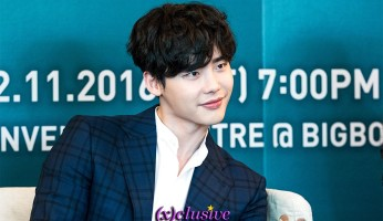 Lee Jong Suk Press Conference in Singapore