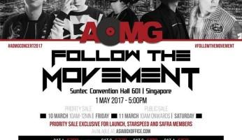 AOMG Follow The Movement in Singapore