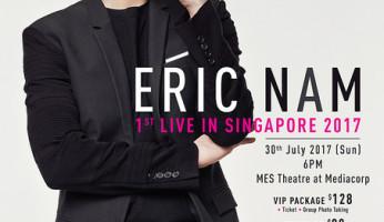 Eric Nam 1st Live in Singapore