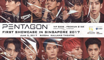 Pentagon 1st Showcase in Singapore