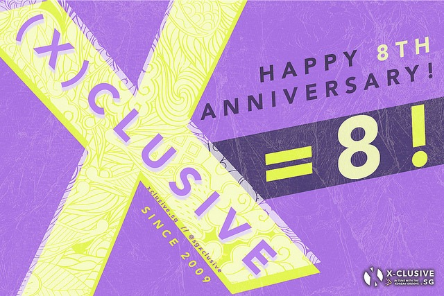 (x)clusive Turns EIGHT Today!