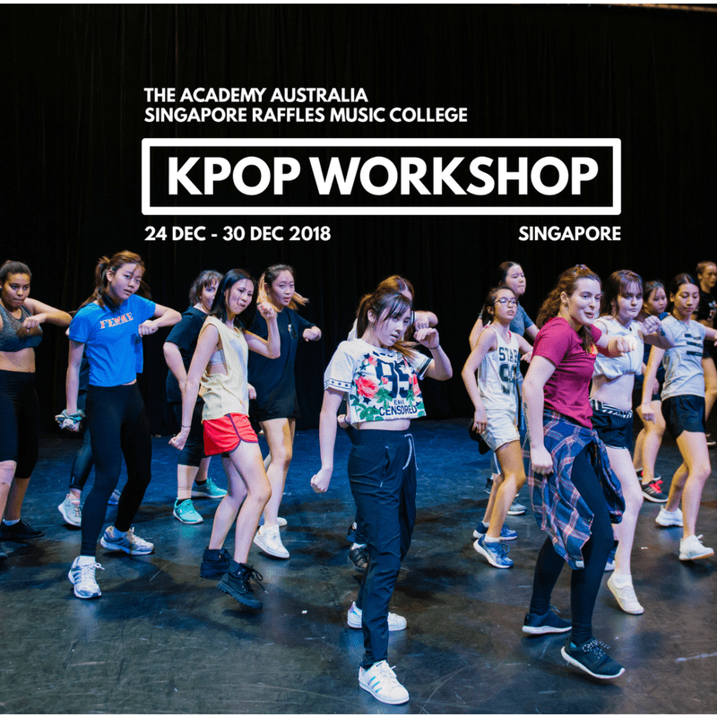 Become A K-Pop Star With The Academy This December!